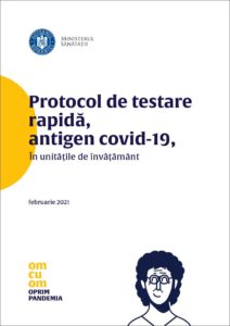 Descarcă Protocol de testare rapidă, antigen Covid-19 în unitățile de învățământ